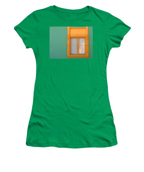 Women's T-Shirt featuring the photograph Windows Of The World - Santiago Chile by Rick Locke