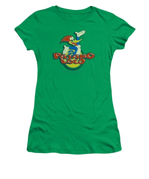 Woody Woodpecker - Loco Women's T-Shirt (Athletic Fit)