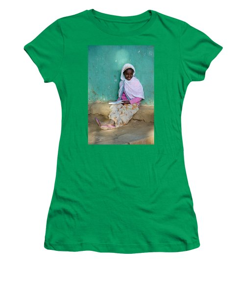 Ethiopia-south School Girl Women's T-Shirt (Athletic Fit)