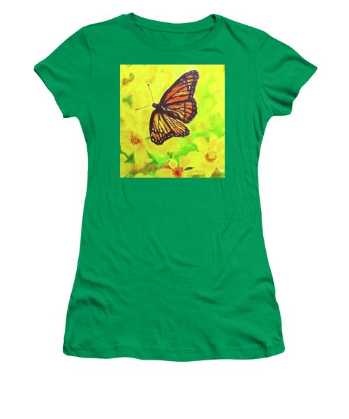 Free To Fly Women's T-Shirt (Junior Cut) by Beth Saffer