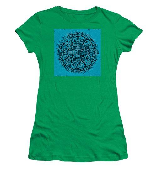 Light Blue Oreo Women's T-Shirt