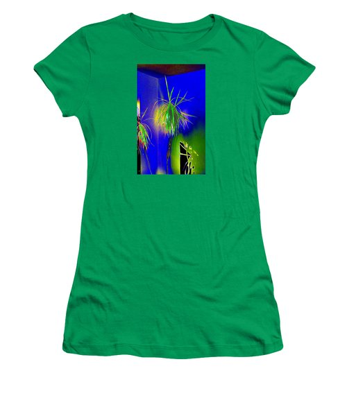 Women's T-Shirt (Athletic Fit) featuring the digital art Sanguinity by Will Borden
