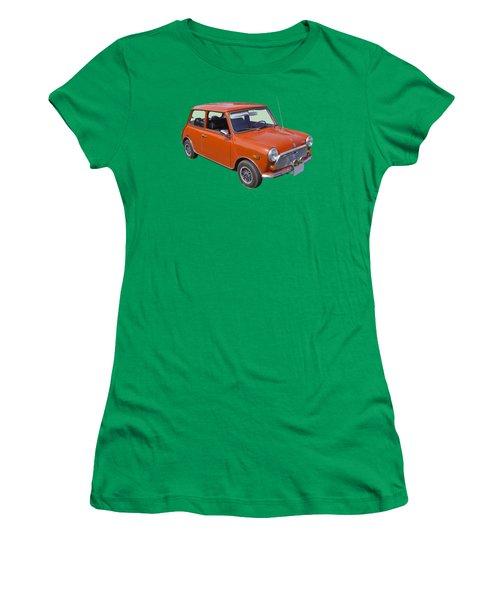 Red Mini Cooper Women's T-Shirt