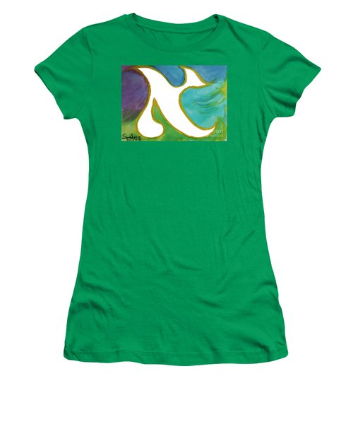 Aleph Alive Women's T-Shirt (Athletic Fit)