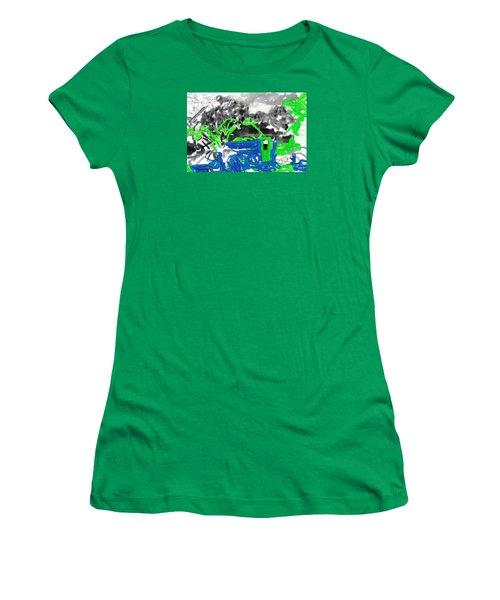 Broken Homes Women's T-Shirt (Athletic Fit)