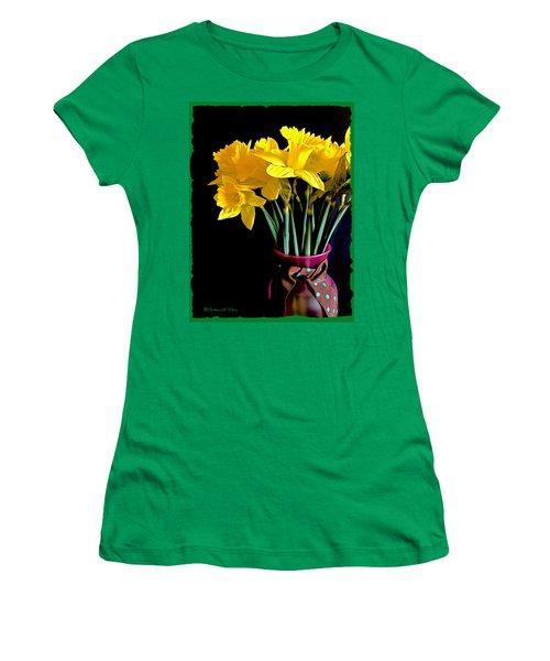 Narcissus Bouquet Women's T-Shirt