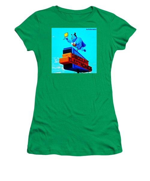 #sign #weirdness In #myhometown Women's T-Shirt