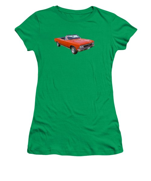 1966 Chevrolet Chevelle Convertible 283  Women's T-Shirt