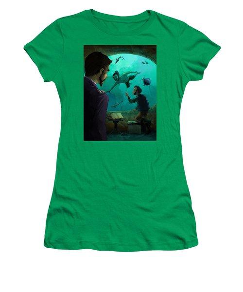 20000 Leagues Under The Sea Women's T-Shirt