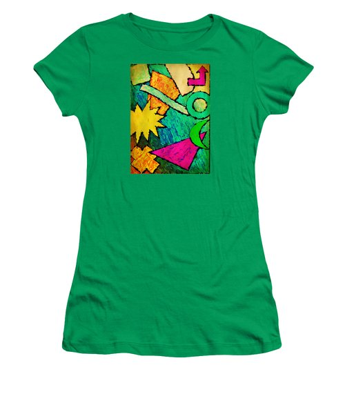 Funky Fanfare Women's T-Shirt (Athletic Fit)