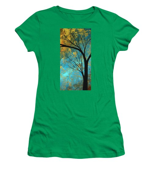 Abstract Landscape Art Passing Beauty 3 Of 5 Women's T-Shirt