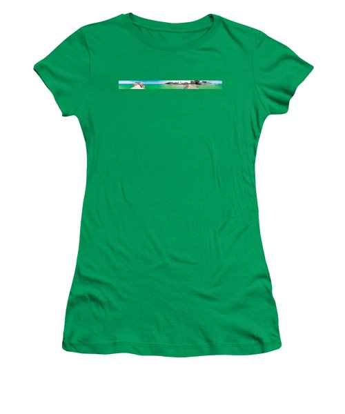 Anna Maria Island With Rod And Reel Pier Women's T-Shirt