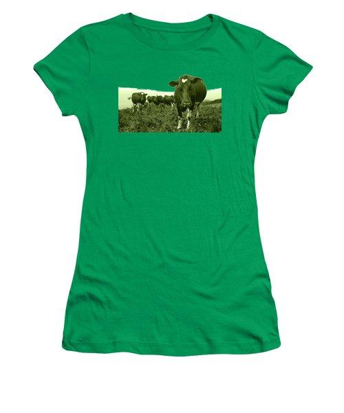 Annoyed Cow Women's T-Shirt