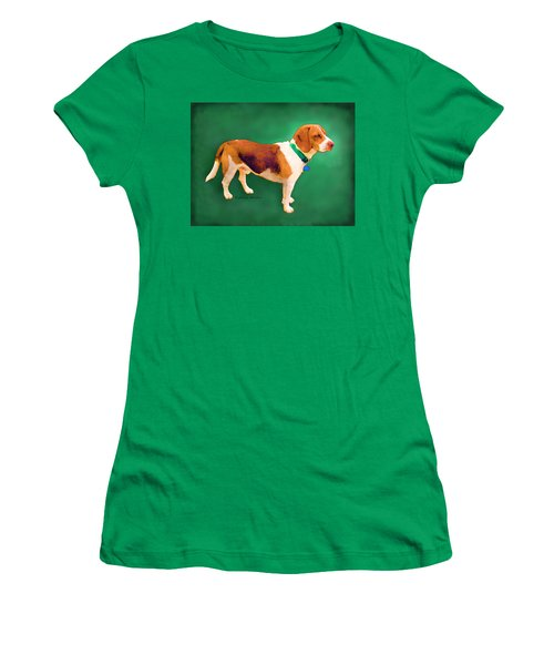 Women's T-Shirt (Athletic Fit) featuring the photograph Apache Green by KLM Kathel
