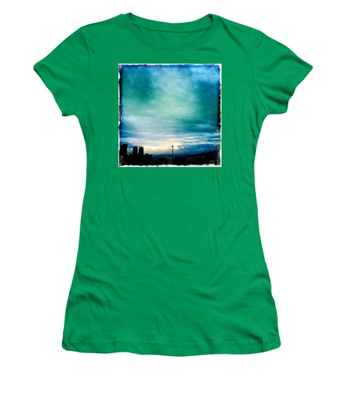 Aqua Needle Women's T-Shirt