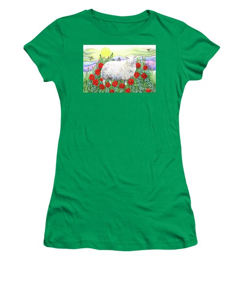 Arrival Of The Hummingbirds Women's T-Shirt