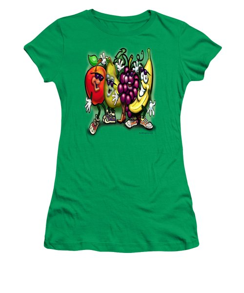 Fruits Women's T-Shirt (Athletic Fit)