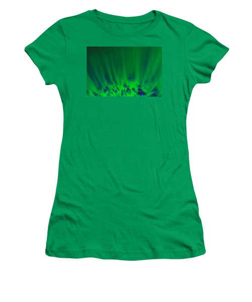 Women's T-Shirt (Athletic Fit) featuring the photograph Ascending by Greg Collins