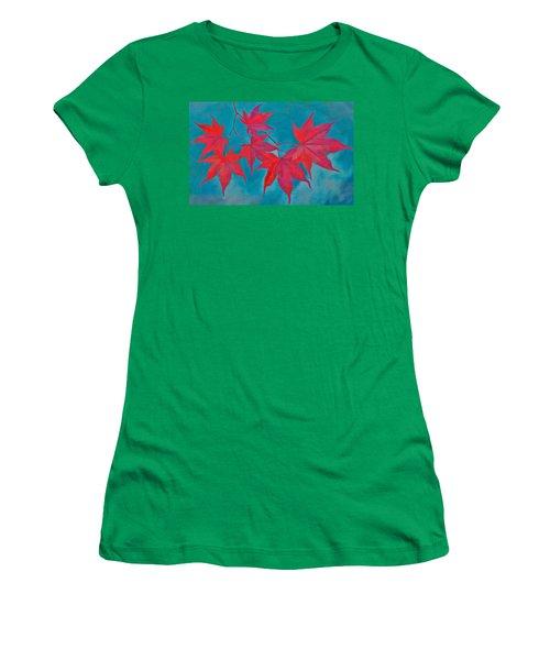 Autumn Crimson Women's T-Shirt