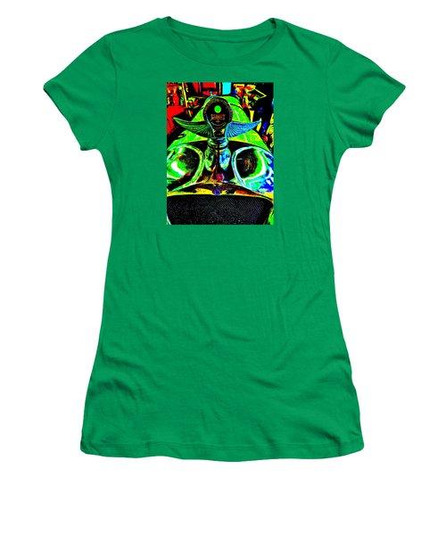 Bahre Car Show II 36 Women's T-Shirt (Junior Cut) by George Ramos