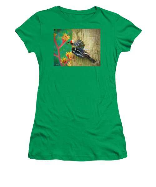 Barbet Nestlings Women's T-Shirt (Athletic Fit)