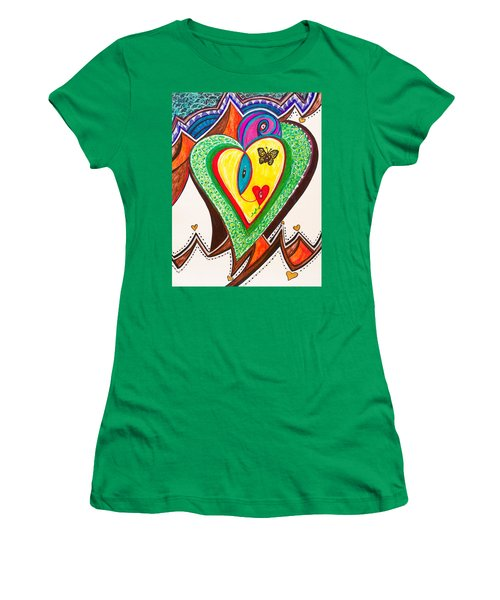 Being Alive - Iv Women's T-Shirt (Athletic Fit)