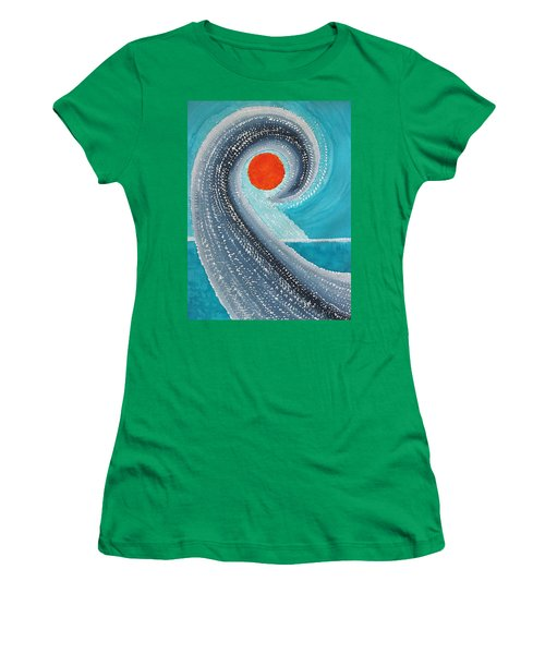 Big Kahuna Original Painting Women's T-Shirt