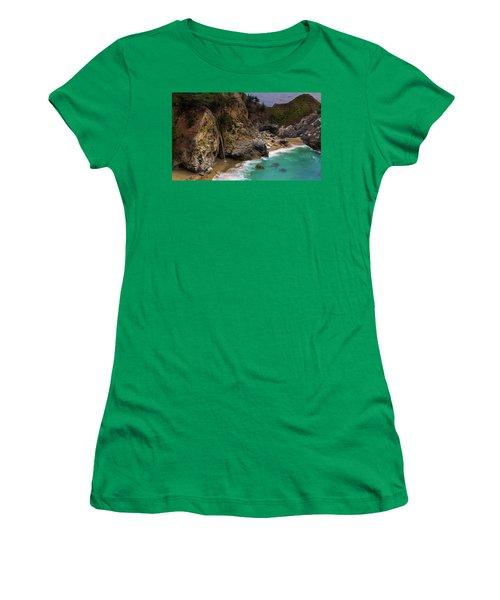 Big Sur Waterfall Women's T-Shirt