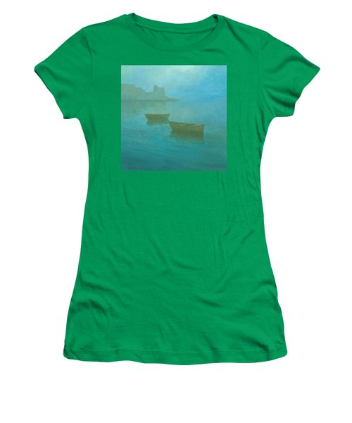 Blue Mist At Erbalunga Women's T-Shirt