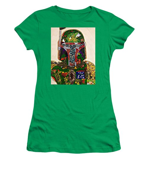 Boba Fett Star Wars Afrofuturist Collection Women's T-Shirt