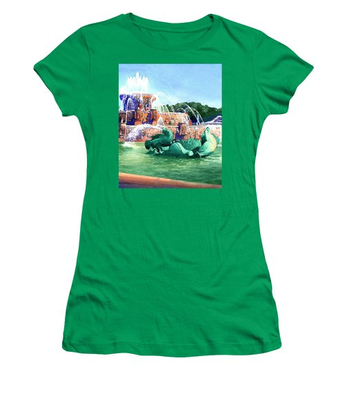 Buckingham Fountain Women's T-Shirt