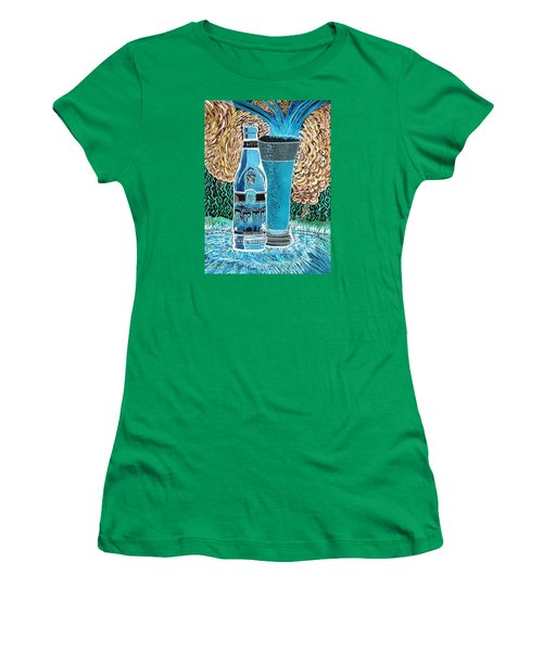 Burr Hyfe Gone Real Cold Women's T-Shirt (Junior Cut) by Connie Valasco