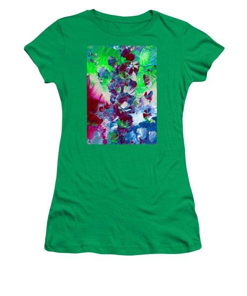 Butterflies, Fairies And Flowers Women's T-Shirt