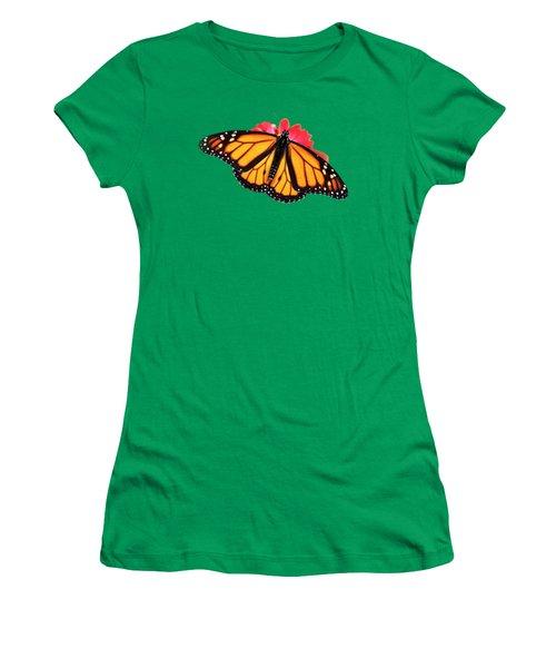 Butterfly Pattern Women's T-Shirt