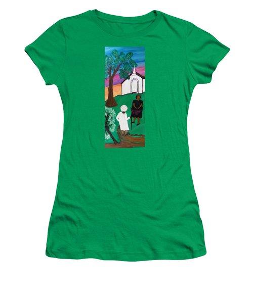 Church Ladies  Women's T-Shirt (Junior Cut) by Mildred Chatman