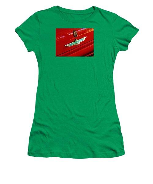 Classic Ford Thunderbird Emblem Women's T-Shirt (Athletic Fit)