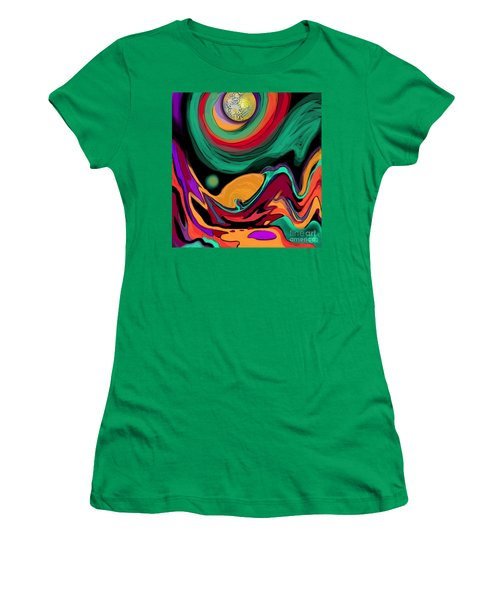 Comet II Women's T-Shirt (Junior Cut) by Carol Jacobs