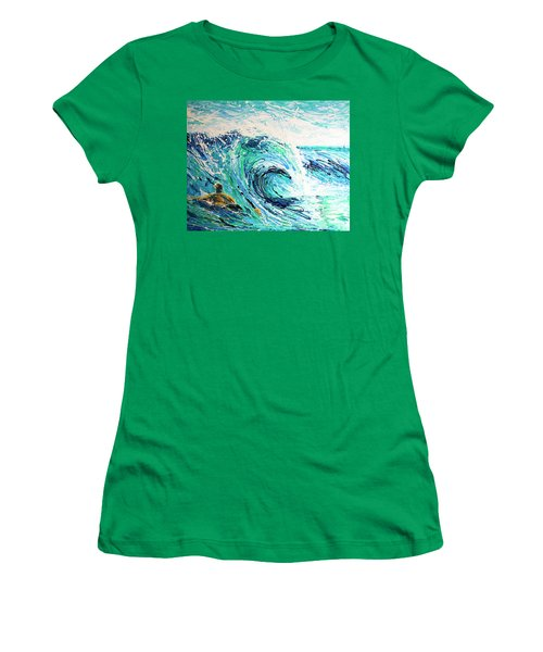 Crossing The Sandbar Women's T-Shirt