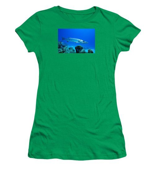 Women's T-Shirt (Junior Cut) featuring the photograph Shimmer  by Aaron Whittemore