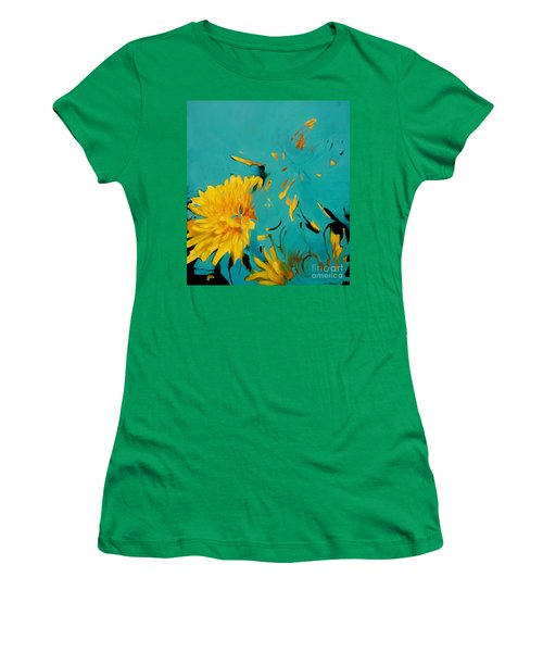 Dandelion Summer Women's T-Shirt (Athletic Fit)