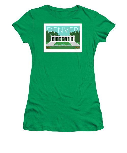 Denver Cheesman Park/lt Blue Women's T-Shirt