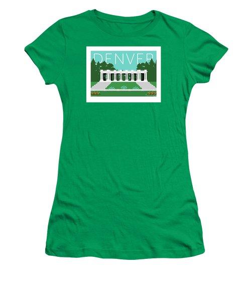 Denver Cheesman Park/lt Blue Women's T-Shirt