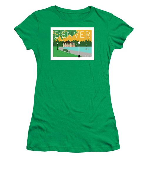 Denver Washington Park/gold Women's T-Shirt