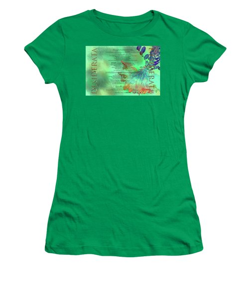 Desiderata #2 Women's T-Shirt (Athletic Fit)
