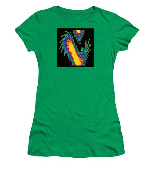 Digital Art 10 Women's T-Shirt (Athletic Fit)