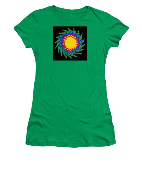 Women's T-Shirt (Junior Cut) featuring the photograph Digital Art 9 by Suhas Tavkar