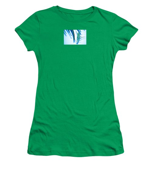 Women's T-Shirt (Junior Cut) featuring the photograph Dreaming Abstract Today by Susanne Van Hulst