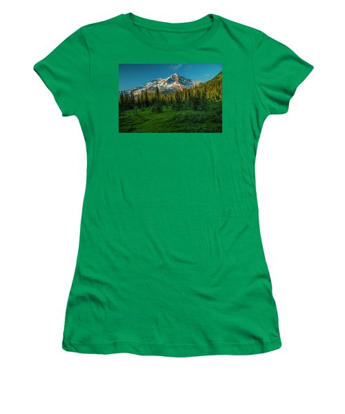 Dusk At Indian Henry Campground Women's T-Shirt