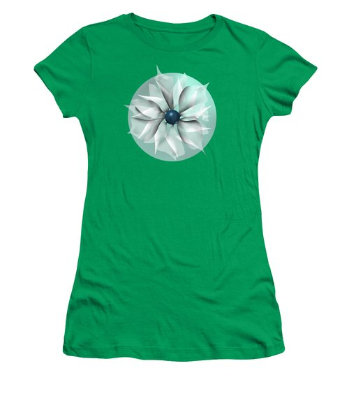 Emerald Flower Women's T-Shirt
