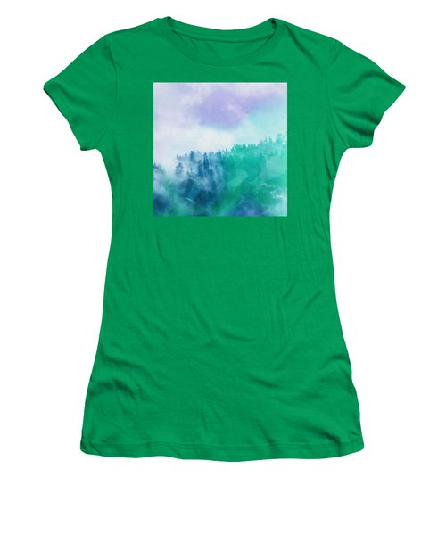 Enchanted Scenery Women's T-Shirt (Athletic Fit)